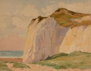Walter Rob. Stewart Acton - Seaford Cliffs