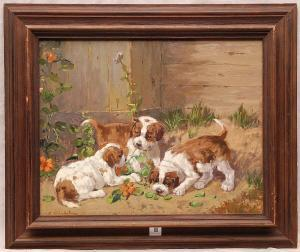 Erwin Aichele - 3 Puppies