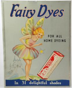Anonymous - A Fairy With A Pack Of Fairy Dye 'fairy Dyes