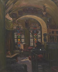 Ludwig Blum - Synagogue In Safed