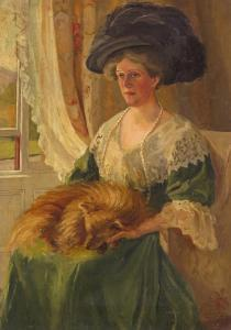 Alfred Thompson Bricher -  Portrait Of A Lady