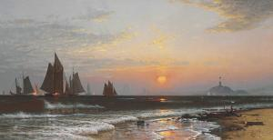 Alfred Thompson Bricher - Sunrise