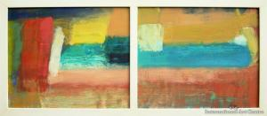 Mathew Browne - Pacific Rendezvous - Diptych
