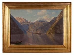 Godfred B.W. Christensen - Lake Königssee