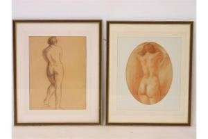 Louise Cottard-Fossey - Study Of A Nude