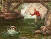 CROSBY SMITH RALPH Trout Fishing