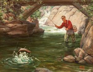 Ralph Crosby Smith - Trout Fishing
