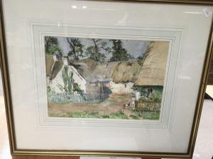 Anna Dixon - A Framed And Glazed Watercolour