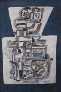 Jose Gurvitch - Abstract Composition