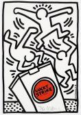 HARING Keith Lucky Strike