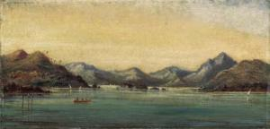 William Robert Houghton - Malabar Point, Bombay; And Bombay Harbour