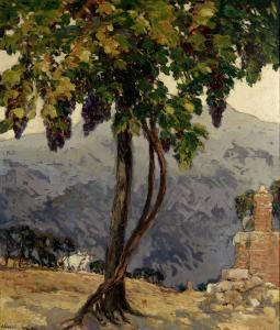Alexander Jamieson - The Old Vine, San Gimigniano, Italy