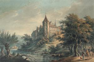 B. C. Koek - River Landscape