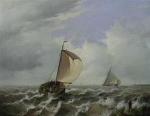 Jean Laurent - Shipping Off The Dutch Coast