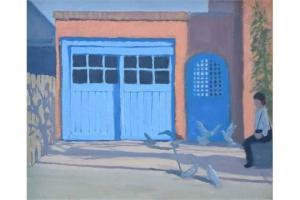 Andrew Macara - Seated Figure And Birds