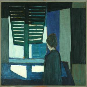Niels Mandrup Bruun - Interieur With A Person