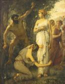 MARIOTON Jean Alfred Ulysses Returning Home To Penelope And The Laestrygonians