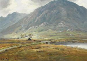 Charles J. Mcauley - In The Shadows Of Aghla, County Donegal