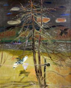 David Mcclure - Birds Over The Tay In Winter