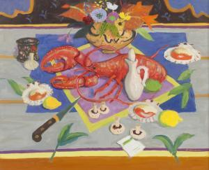 David Mcclure - Lobster, Mushrooms And Scallops