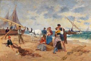 Francisco Miralles Y Galup - The Fisherman Returns