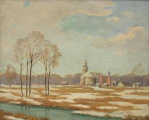 Lincoln Godfrey Morris - Early Spring, Laprairie, Quebec