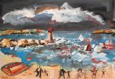 MOULET Claude Stormy Seascape