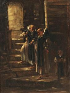 James Campbell Noble - A Monastic Intrigue