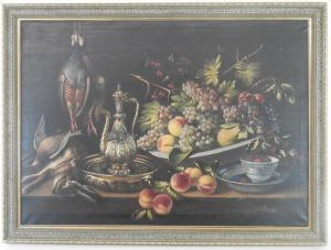 Padilla - Life With Fruit And Game On A Table