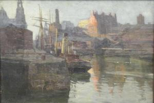 Philip Stuart Paice - Liverpool Docks