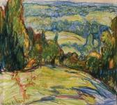 REIFFEL Charles Landscape With Trees
