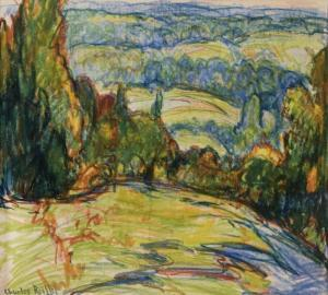 Charles Reiffel - Landscape With Trees