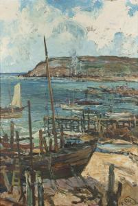 Charles Reiffel - The Old Boat