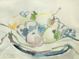 Chatin Sarachi - Still Life Of A Bowl Of Fruit