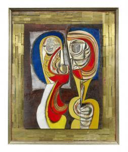 Cecil Skotnes - Two Figures
