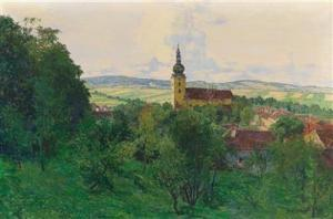 Siegfried Stoitzner -  View Over Ravelsbach