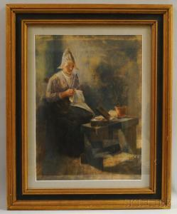 Jacob Taanman - The Fisher's Wife Handworking