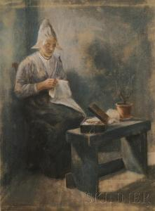 Jacob Taanman - The Fishers Wife Handworking