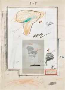 Cy Twombly -  Natural History Part I Mushrooms