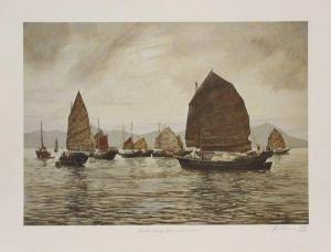 P. Williams - Chinese Landscapes And Boat Scenes