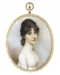 William Ii Wood - Miss Charlotte Sophia Dashwood